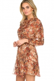 IRO |  Floral wrap dress Pacify | nude  | Picture 4
