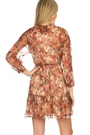 IRO |  Floral wrap dress Pacify | nude  | Picture 5