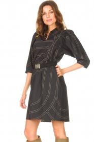 Second Female |  Shirt dress Dakky | black  | Picture 5