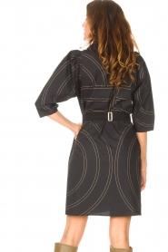 Second Female |  Shirt dress Dakky | black  | Picture 7