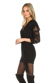 IRO |  Dress with embroideries Famous | black  | Picture 4