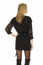 IRO |  Dress with embroideries Famous | black  | Picture 5