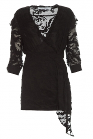 IRO |  Dress with embroideries Famous | black  | Picture 1