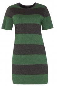 NIKKIE | Glinsterende jurk Jolien | groen  | Afbeelding 1