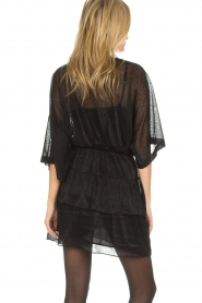 IRO |  Dress with glitter details Wide | black  | Picture 5