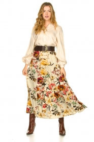 Lolly's Laundry    Floral skirt Bonny   natural    Picture 2