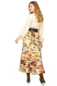 Lolly's Laundry    Floral skirt Bonny   natural    Picture 5
