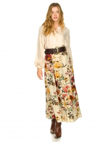 Lolly's Laundry    Floral skirt Bonny   natural    Picture 3