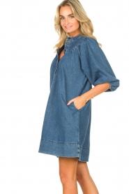 Second Female | Denim jurk Jeanie | blauw  | Afbeelding 6