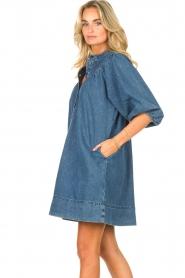 Second Female | Denim jurk Jeanie | blauw  | Afbeelding 5