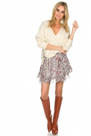 IRO |  Skirt with ruffles Tide | multi  | Picture 3