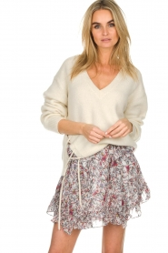 IRO |  Skirt with ruffles Tide | multi  | Picture 2