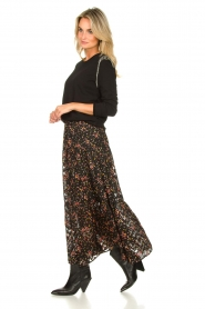 Lolly's Laundry |  Floral skirt Bonny | black  | Picture 6