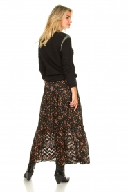 Lolly's Laundry |  Floral skirt Bonny | black  | Picture 7