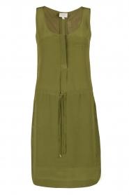 Dante 6 | Zijden jurk Joella | groen  | Afbeelding 1
