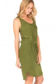 Dante 6 | Zijden jurk Joella | groen  | Afbeelding 4