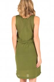 Dante 6 | Zijden jurk Joella | groen  | Afbeelding 5