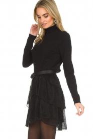 IRO |  Glitter skirt with ruffles Huge | black  | Picture 4