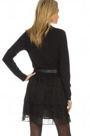 IRO |  Glitter skirt with ruffles Huge | black  | Picture 5