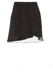 IRO |  Glitter skirt with ruffles Huge | black  | Picture 1