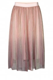 Lolly's Laundry |  Midi pleated skirt Milton | pink  | Picture 1