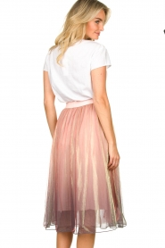 Lolly's Laundry |  Midi pleated skirt Milton | pink  | Picture 5