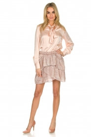 IRO |  Glitter skirt with ruffles Huge | pink  | Picture 4