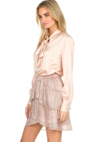 IRO |  Glitter skirt with ruffles Huge | pink  | Picture 5
