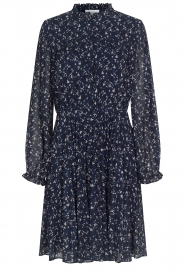 Second Female |  Dress with print Norrie | blue  | Picture 1