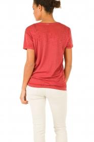 IKKS | T-shirt Dawn | rood  | Afbeelding 5