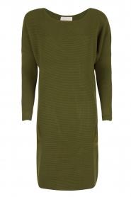 Dante 6 | Sweaterjurk Samoa | groen  | Afbeelding 1