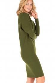 Dante 6 | Sweaterjurk Samoa | groen  | Afbeelding 4