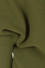 Dante 6 | Sweaterjurk Samoa | groen  | Afbeelding 6
