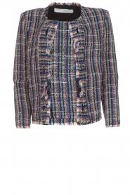 IRO |  Boucle jacket Frannie | blue  | Picture 1