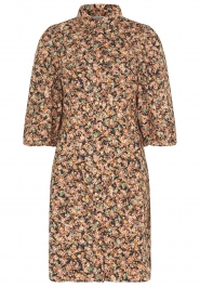Second Female |  Dress with floral print Mayda | black  | Picture 1
