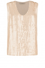 Hunkydory | Pailletten top Clayton | goud  | Afbeelding 1
