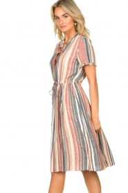 Lolly's Laundry |  Striped dress Sandra | multi  | Picture 5