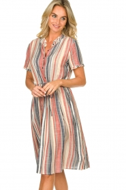 Lolly's Laundry |  Striped dress Sandra | multi  | Picture 2