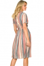 Lolly's Laundry |  Striped dress Sandra | multi  | Picture 6