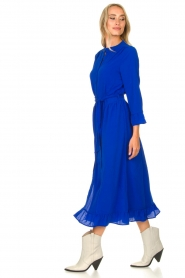 Lolly's Laundry |  Ruffled maxi dress Harper | blue  | Picture 5