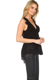 IRO | Blouse Louise | black  | Picture 5