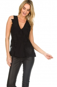 IRO | Blouse Louise | black  | Picture 4