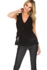 IRO | Blouse Louise | black  | Picture 2