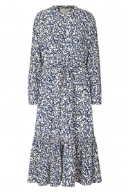Lolly's Laundry |  Printed midi dress Anastacia | blue  | Picture 1