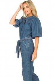 Second Female |  Denim top Jeanie | blue  | Picture 5