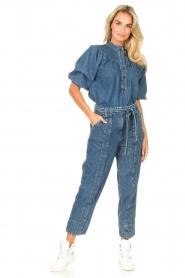 Second Female |  Denim top Jeanie | blue  | Picture 3