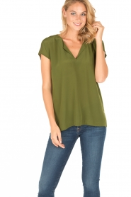 Dante 6 |  Silk top Rakel | green  | Picture 2