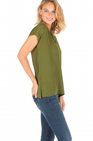 Dante 6 |  Silk top Rakel | green  | Picture 3