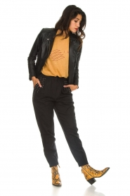IRO |  Baggy pants with studs Richly | black  | Picture 2