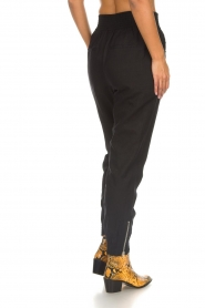 IRO |  Baggy pants with studs Richly | black  | Picture 5